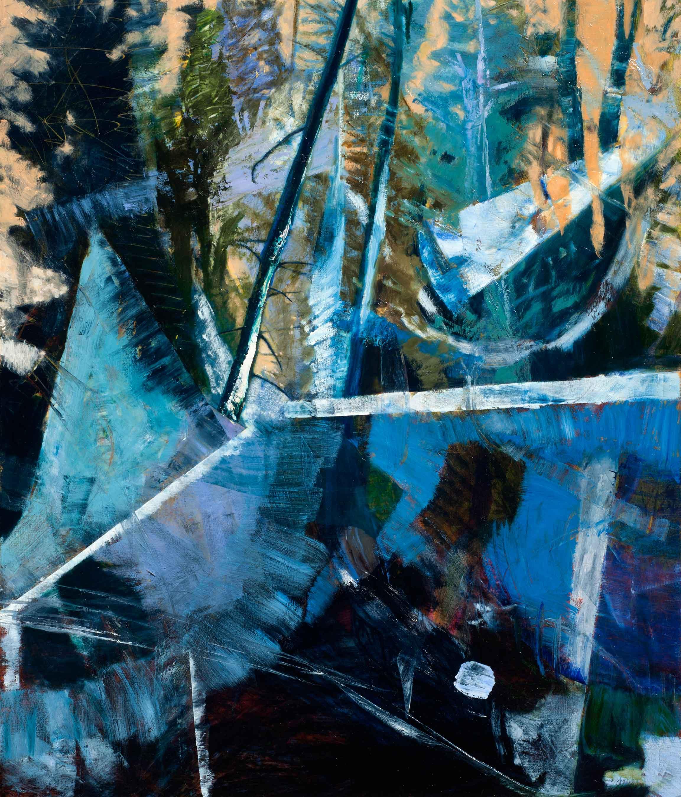 Silence, oil painting on linen